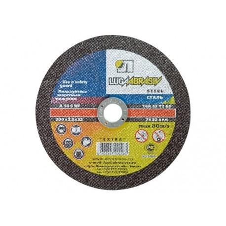 Vágókorong fémre METAL/INOX 115x1,6 LUGA Extra