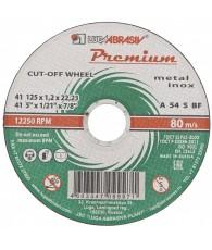 Vágókorong fémre METAL/INOX 125x1,0 LUGA Prémium