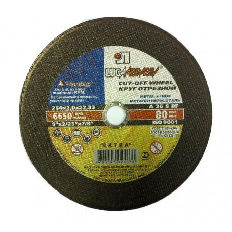 Vágókorong fémre METAL/INOX 230x2,0 LUGA Extra