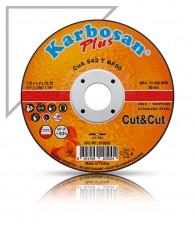 Vágókorong fémre INOX Plus 125x1,0 Karbosan