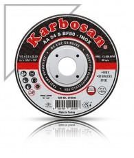 Vágókorong fémre INOX 180x1,6 Karbosan