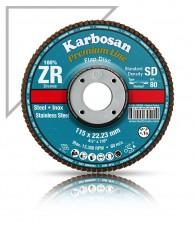 Lamellás csiszoló SD inoxra 125 Karbosan