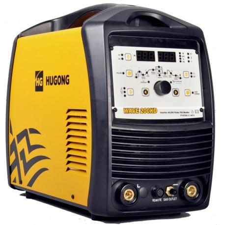 Hegesztőgép TIG 200A AC/DC impulzusos HG/CW Wave 200KD