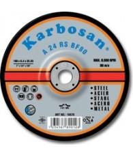 Tisztítókorong fémre 180x 6,4 Karbosan