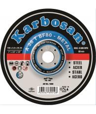 Tisztítókorong alumíniumhoz 125x 6,4 Karbosan