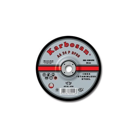 Tisztítókorong inox 125x 6,4 Karbosan