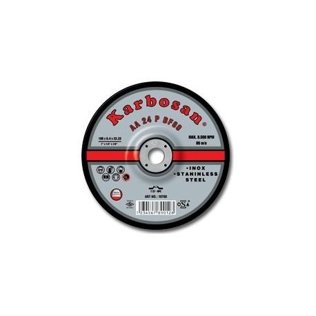 Tisztítókorong Inox 230x 6,4 Karbosan