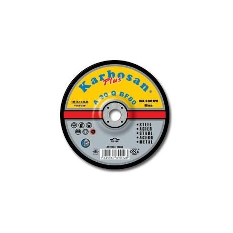 Tisztítókorong fém Plus 180x 6,4 Karbosan