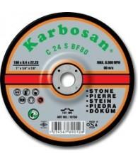 Tisztítókorong kőre 230x 6,4 Karbosan