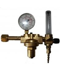 """Reduktor AR/CO2 átfolyásmérővel W21,8x1/14"""" - 3/8"""" Oxyturbo"""