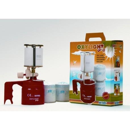 OXYLIGHT grip piez.gázlámpa+2pal. Oxyturbo