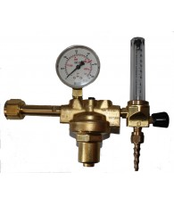 """Reduktor AR/CO2 átfolyásmérővel(rotaméteres) W20,91x1/2"""" - 1/4"""" Oxyturbo"""