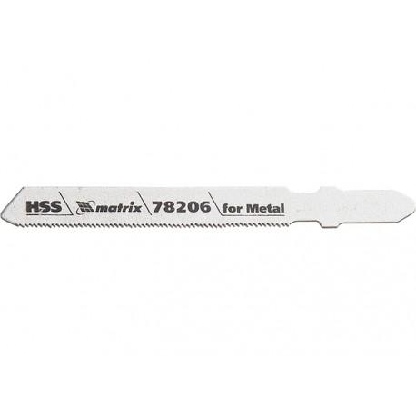Szúrófűrészlap, fémhez, T118G, 50 x 0,8 mm, HSS 3db/csom MTX PROFESSIONAL