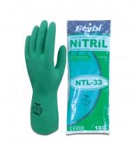 Kesztyű nitril vegyszerálló Beybi