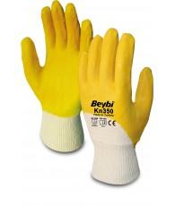 Kesztyű nitril 3/4 csuklószorítós Beybi