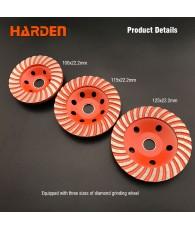 Gyémánt csiszolótárcsa turbo 125 Harden
