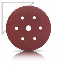 Tépőzáras csiszolókorong 150 AFR71 6 lyuk Karbosan