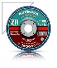 Lamellás csiszoló HD 125 ZR120 Karbosan