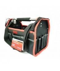 Szerszámos táska nyitott, 415x230x260mm merev falú MTX