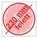 230 MM FELETT